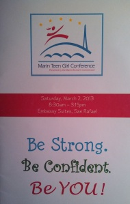marin teen girl conference